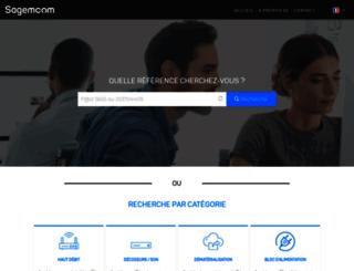 support.sagemcom.com screenshot