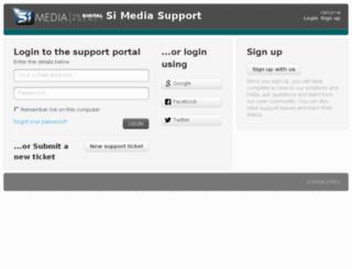 support.simplyintense.com screenshot