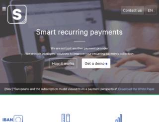 support.slimpay.net screenshot