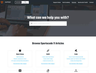 support.sportstec.com screenshot