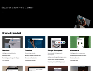 support.squarespace.com screenshot