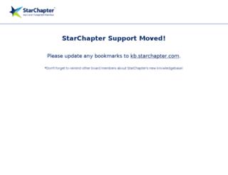 support.starchapter.com screenshot