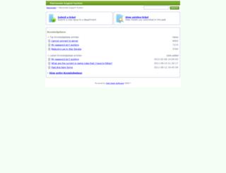 support.starsonata.com screenshot