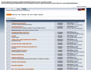 support.sundtek.com screenshot
