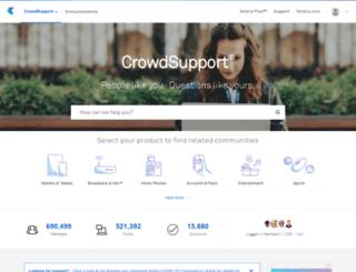 support.telstra.com.au screenshot