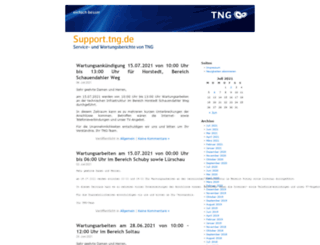 support.tng.de screenshot