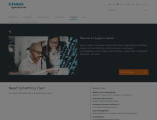 support.ugs.com screenshot
