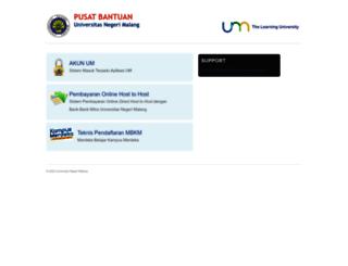 support.um.ac.id screenshot