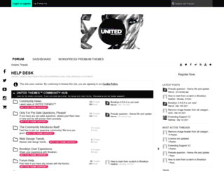 support.unitedthemes.com screenshot