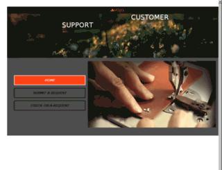 support.vajacases.com screenshot