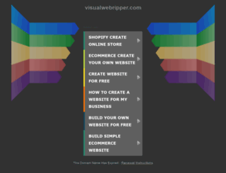 support.visualwebripper.com screenshot