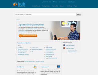 support.webhostinghub.com screenshot