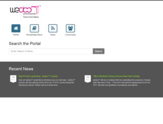support.wedoo.com.my screenshot