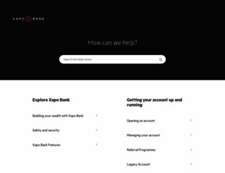 support.xapo.com screenshot
