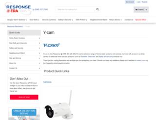 support.y-cam.com screenshot