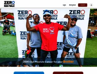 support.zerocancer.org screenshot