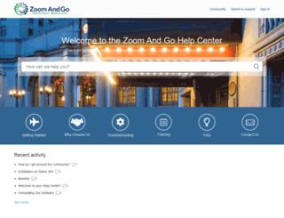 support.zoomandgo.com screenshot