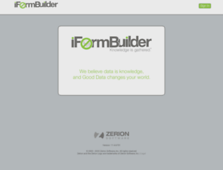 support18.iformbuilder.com screenshot