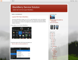 supportblackberry.blogspot.com screenshot