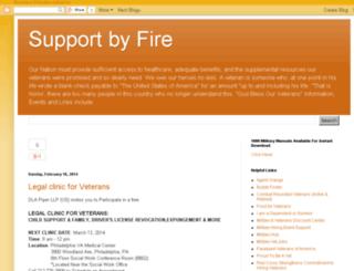 supportbyfire.info screenshot