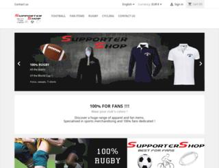 supportershop.co.uk screenshot