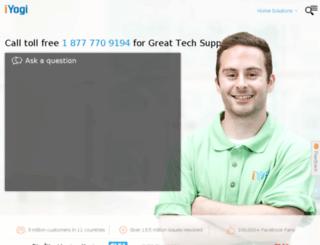 supportforsamsung.iyogi.com screenshot