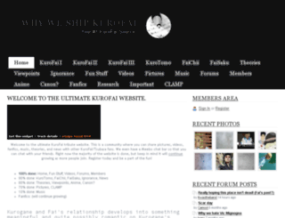 supportkurofai.webs.com screenshot