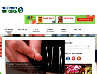 supportnutrition.com screenshot