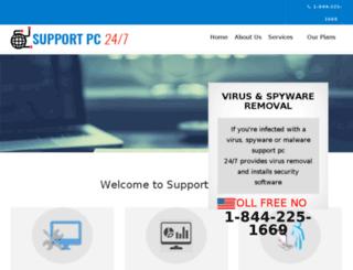 supportpc247.com screenshot