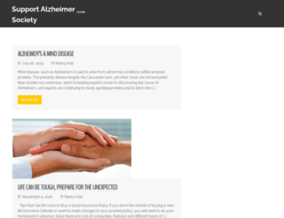 supportthealzheimersociety.ca screenshot