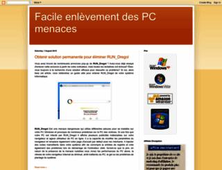 supprimer-pc-menaces.blogspot.in screenshot