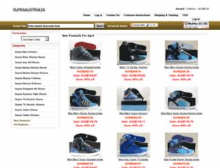 supraaustralia.org screenshot