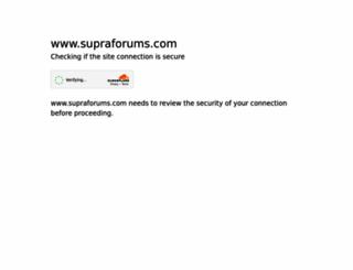 supraforums.com screenshot