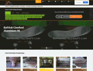 suprametalcraft.com screenshot