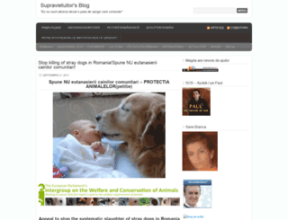 supravietuitor.wordpress.com screenshot