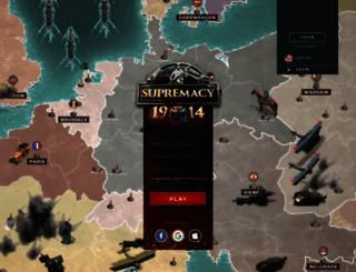 supremacy1914.com screenshot