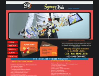 supremacymedia.net screenshot