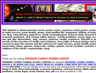 supreme-cosmic-power.com screenshot