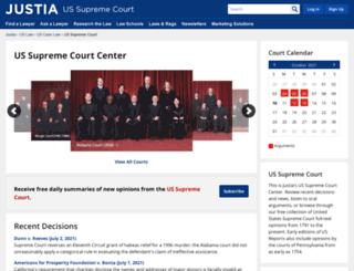 supreme.justia.com screenshot