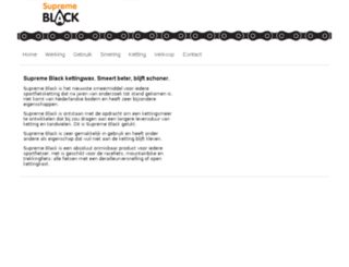 supremeblack.nl screenshot