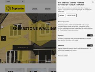 supremeconcrete.co.uk screenshot