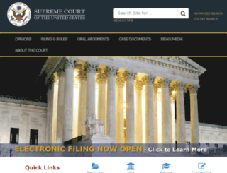 supremecourtus.gov screenshot