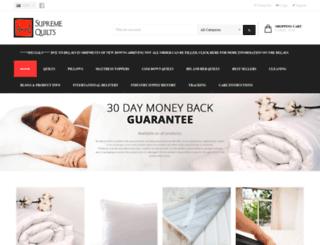 supremequilts.com.au screenshot