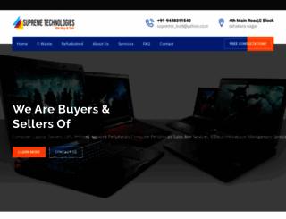 supremetechnologies.net.in screenshot