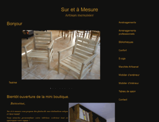 sur-et-a-mesure.fr screenshot