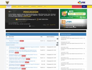 surabaya-eproc.or.id screenshot