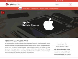 surabaya.zapplerepair.com screenshot