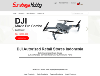 surabayahobby.com screenshot