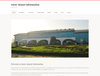suratairport.info screenshot