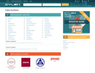 surbiton.cylex-uk.co.uk screenshot